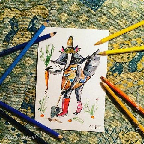 Идейный вдохновитель - Митя из Санкт - Петербурга, теперь герой иллюстраций моей дочери. фото 13