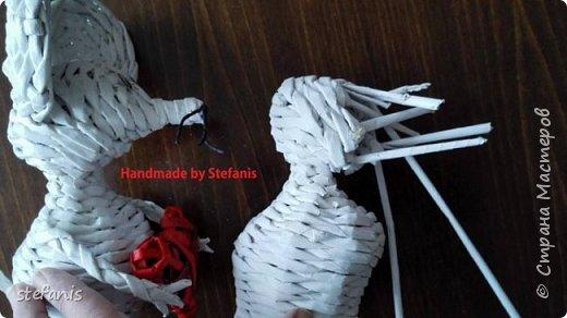 Такая у меня мышь получается.  Плету без формы. фото 15