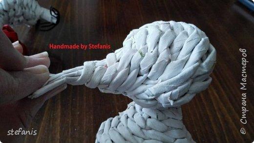 Такая у меня мышь получается.  Плету без формы. фото 18