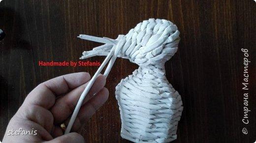Такая у меня мышь получается.  Плету без формы. фото 16