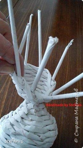 Такая у меня мышь получается.  Плету без формы. фото 14
