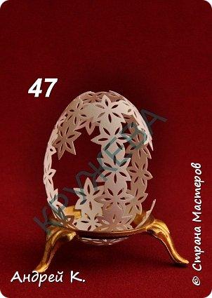 Продолжение.  Начало: https://stranamasterov.ru/node/990444?tid=1113 .  Резная скорлупа куриного яйца. фото 1