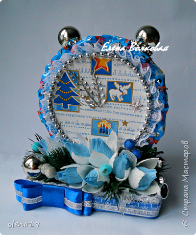"""С наступившим 2016 годом!!! Здоровья и благополучия каждой семье! Подарки к Новому году. Начну с домика на коробке """"Раффаэлло"""". За идею оформления спасибо Даше Хомюк. фото 7"""