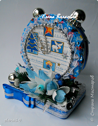 """С наступившим 2016 годом!!! Здоровья и благополучия каждой семье! Подарки к Новому году. Начну с домика на коробке """"Раффаэлло"""". За идею оформления спасибо Даше Хомюк. фото 9"""