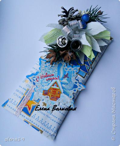 """С наступившим 2016 годом!!! Здоровья и благополучия каждой семье! Подарки к Новому году. Начну с домика на коробке """"Раффаэлло"""". За идею оформления спасибо Даше Хомюк. фото 14"""