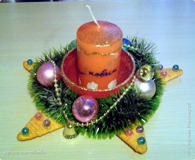 Добрый вечер,друзья!Примите наши с Ксюшей-моей ученицей-самые теплые поздравления и пожелания счастья,добра и творческих находок!С НОВЫМ ГОДОМ!!!УРА! В эти прекрасные дни хочу показать вам новогодние подарки,которые мы подготовили с Ксюшей.А еще-большую работу,выполненную впервые-панно из соленого теста! фото 4