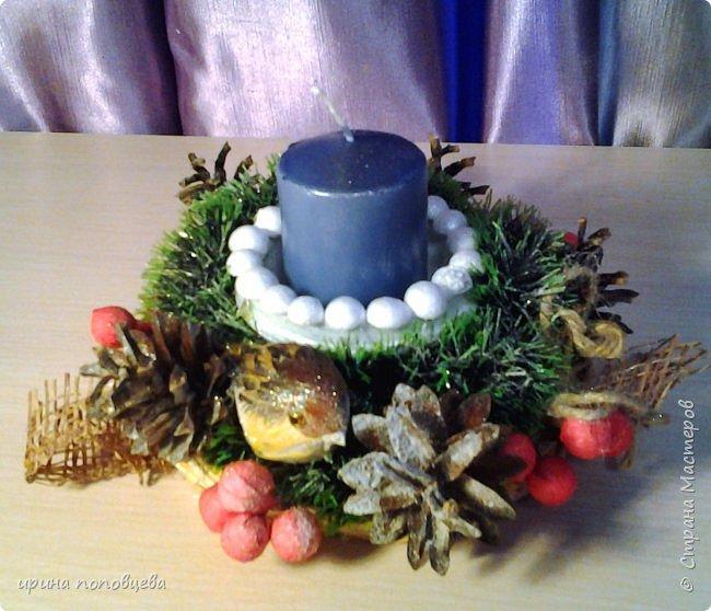 Добрый вечер,друзья!Примите наши с Ксюшей-моей ученицей-самые теплые поздравления и пожелания счастья,добра и творческих находок!С НОВЫМ ГОДОМ!!!УРА! В эти прекрасные дни хочу показать вам новогодние подарки,которые мы подготовили с Ксюшей.А еще-большую работу,выполненную впервые-панно из соленого теста! фото 6
