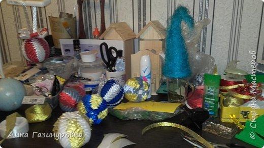 Набор новогодних шаров фото 11
