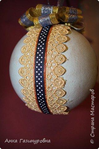 Набор новогодних шаров фото 9