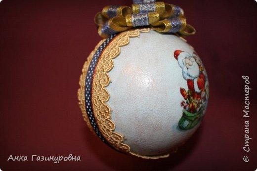 Набор новогодних шаров фото 10