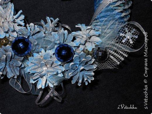 Голубая ель и венок. фото 4