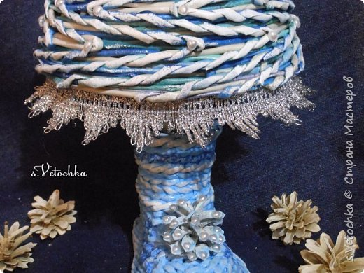 Голубая ель и венок. фото 9