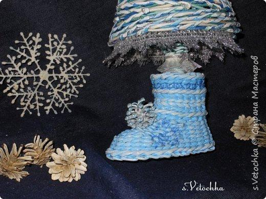 Голубая ель и венок. фото 8