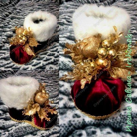Приветствую всех и поздравляю с наступившим Новым 2016 годом!!! Вдохновилась и взяла на заметку один МК  http://marrietta.ru/post368592437/   вот такая красота получилась Получилось так,что ни одного не осталось в наличии,все ушли на подарки фото 4