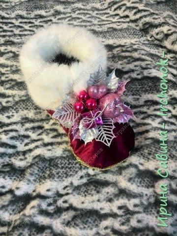 Приветствую всех и поздравляю с наступившим Новым 2016 годом!!! Вдохновилась и взяла на заметку один МК  http://marrietta.ru/post368592437/   вот такая красота получилась Получилось так,что ни одного не осталось в наличии,все ушли на подарки фото 3