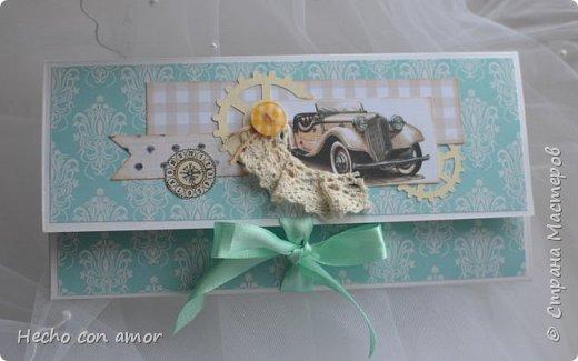 Всем доброго времени суток! Поднакопилось у меня разных конвертиков, решила выложить фото.  Первый конвертик сделан на заказ к осенней свадьбе. Золотая осень, золотистые тона... фото 14