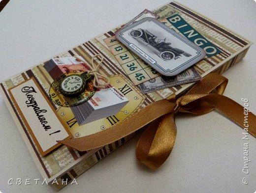 Открытки, шоколадницы, календари  и  т.д.  для  мужчин  не  всем  нравится  делать,  но  приходится...  Я  сначала  тоже  не  любила,  а  сейчас очень   нравится  мужские  всякие  штучки  сочинять. Хочу  показать  некоторые  экземплярчики.  Сначала  открытки... фото 12
