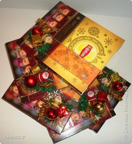 С Новым годом!!! Счастья, здоровья, любви и вдохновения!!! Начну с санок с конфетами для детишек:)   фото 17