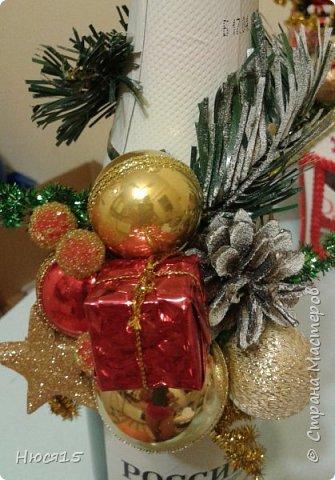 С Новым годом!!! Счастья, здоровья, любви и вдохновения!!! Начну с санок с конфетами для детишек:)   фото 13