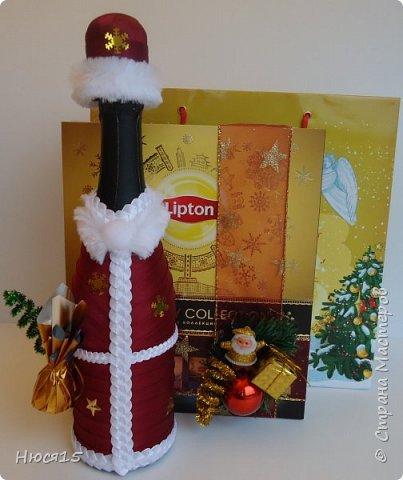 С Новым годом!!! Счастья, здоровья, любви и вдохновения!!! Начну с санок с конфетами для детишек:)   фото 15