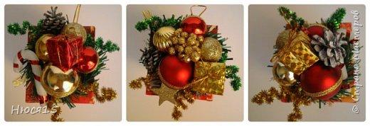 С Новым годом!!! Счастья, здоровья, любви и вдохновения!!! Начну с санок с конфетами для детишек:)   фото 6