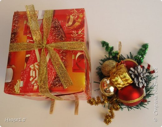 С Новым годом!!! Счастья, здоровья, любви и вдохновения!!! Начну с санок с конфетами для детишек:)   фото 7