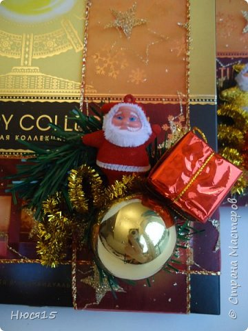 С Новым годом!!! Счастья, здоровья, любви и вдохновения!!! Начну с санок с конфетами для детишек:)   фото 18