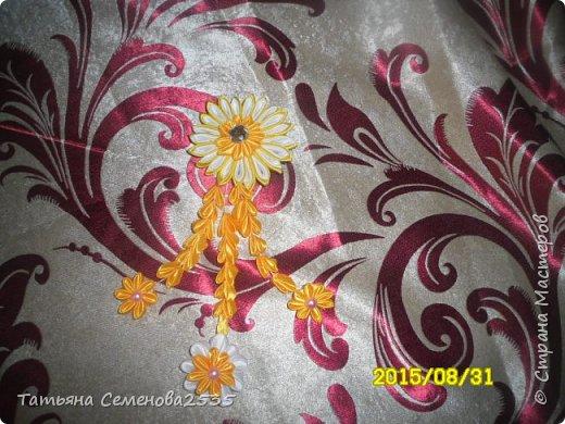 Цветы из лент канзаши своими руками фото