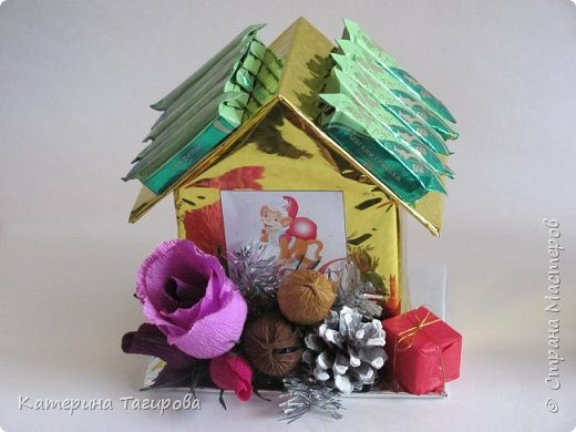 Домик со сладостями N1 фото 3