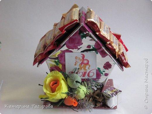 Домик со сладостями N1 фото 4