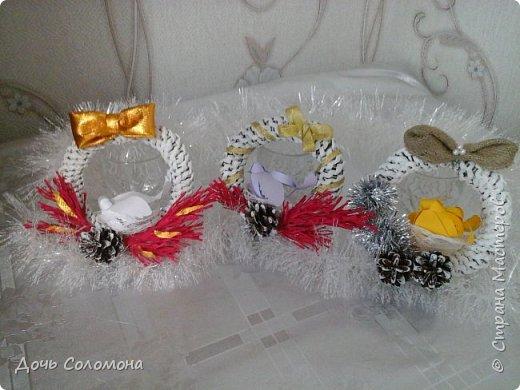 мини -подарочки для моих гостей. их можно подвешать на ёлочку,под ёлочку,на дверь и тд) фото 1