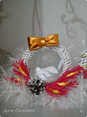 мини -подарочки для моих гостей. их можно подвешать на ёлочку,под ёлочку,на дверь и тд) фото 3
