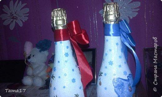 Новогоднии бутылочки  фото 3