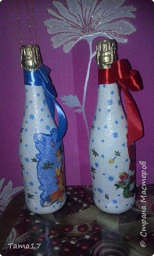 Новогоднии бутылочки  фото 4