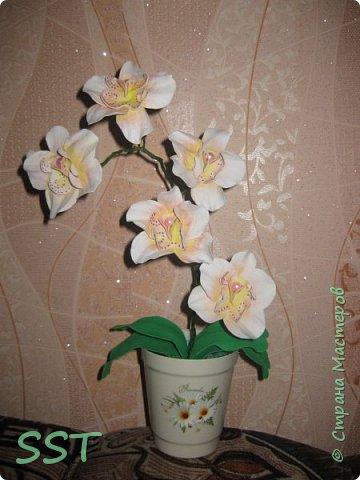 Орхидея из фома фото 4