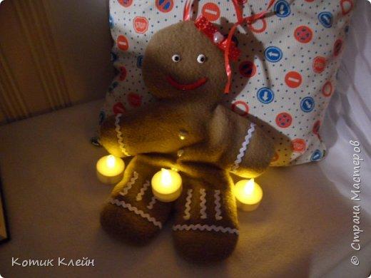 Вот такую печенюху подарили мне на новый год. фото 3