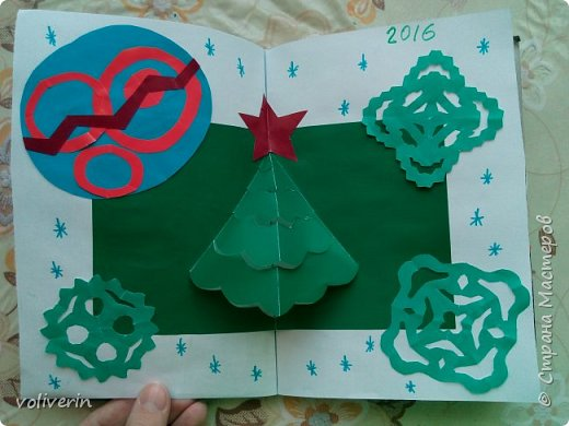 Здравствуйте, эту книжку мы сделали с сыном из цветной бумаги, за несколько дней. Идеи там в основном с интернета, но кое что и наше. Делал её по большей части шестилетний ребенок, я помогала, поэтому не судите строго. фото 3