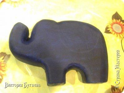 Ежегодный городской  конкурс новогодних игрушек не застал врасплох- очень хотелось индийского слоника... и  все решили материалы... фото 3