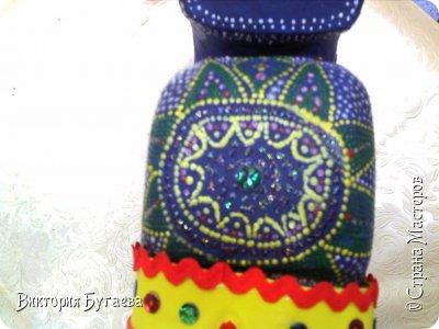 Ежегодный городской  конкурс новогодних игрушек не застал врасплох- очень хотелось индийского слоника... и  все решили материалы... фото 4
