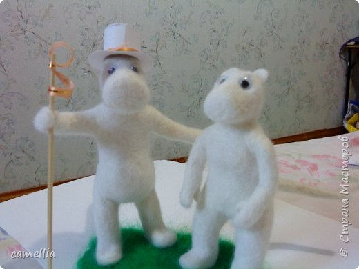 Мумики (Муми-папа и Муми-мама) фото 1