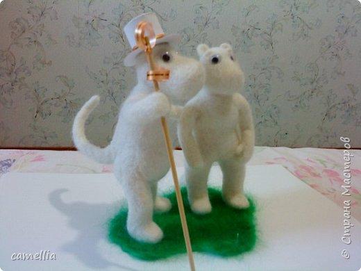 Мумики (Муми-папа и Муми-мама) фото 3