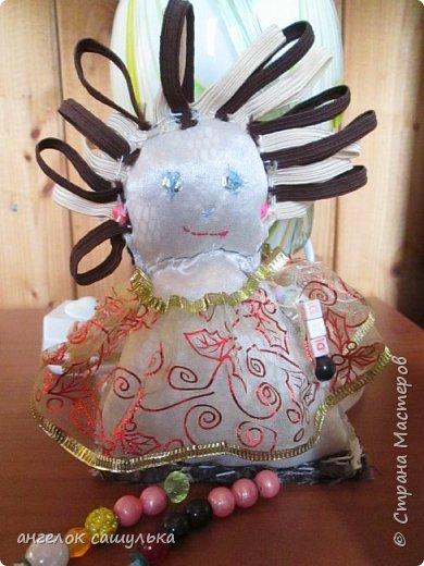 Привет Страна мастеров! С наступившим Вас Новым годом! Эту куколку зовут Доти .  фото 1