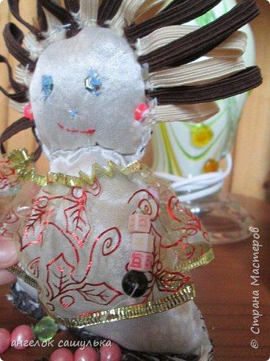 Привет Страна мастеров! С наступившим Вас Новым годом! Эту куколку зовут Доти .  фото 3