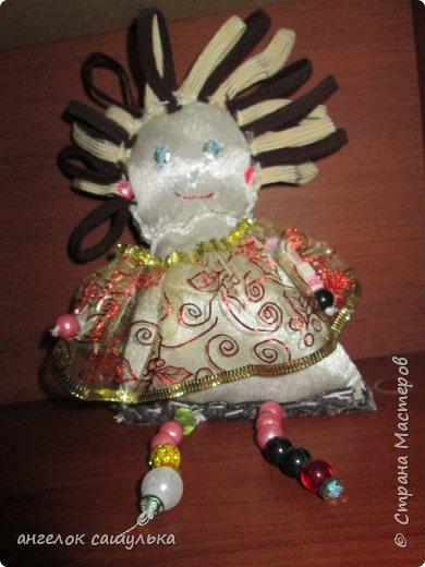 Привет Страна мастеров! С наступившим Вас Новым годом! Эту куколку зовут Доти .  фото 4