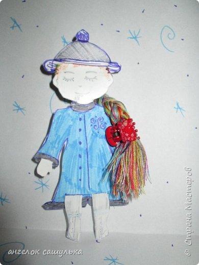 Привет Страна мастеров! С наступившим Вас Новым годом! Эту куколку зовут Доти .  фото 8
