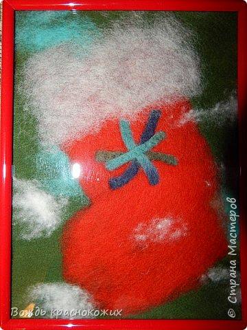Сапожки (носочки) для подарков от Санта-Клауса. фото 2