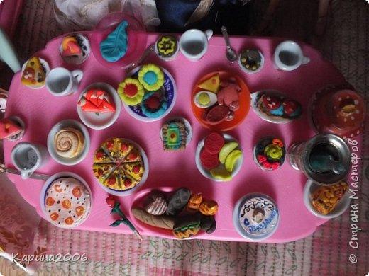Вот такой  стол для кукол у меня получился . фото 12