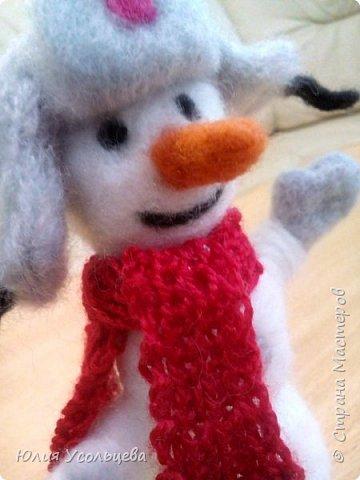 """Снеговик """"Добрыня"""" фото 2"""