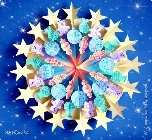 Новогодние игрушки, свечи и хлопушки в нём,  А весёлые зверюшки мой перевернули дом.  Завели весёлый хоровод,  До чего смешён лесной народ  И не верилось, что всё пройдёт сказочным сном... фото 1