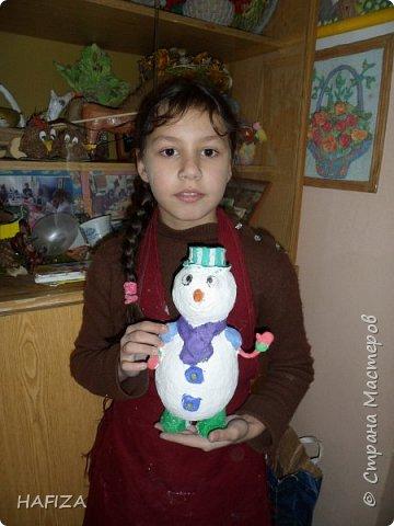 снеговик Кристины